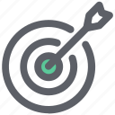 business, finance, investment, plan icon, target