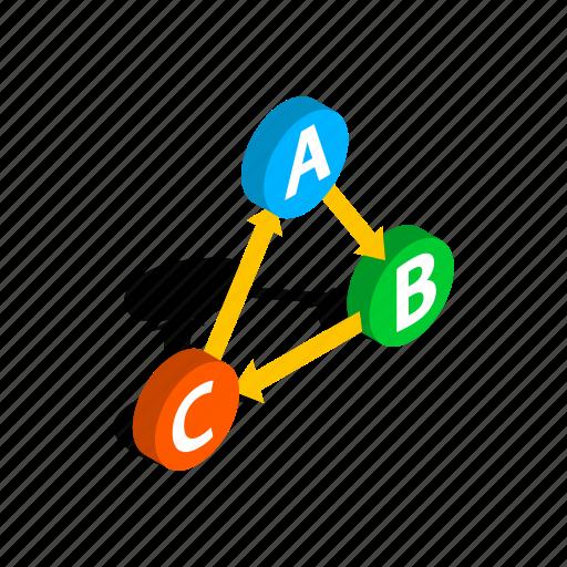 abc, confirm, correct, isometric, mark, tick, vote icon