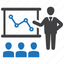 analytics, business, growth, report icon