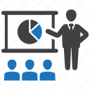 business, report, training icon