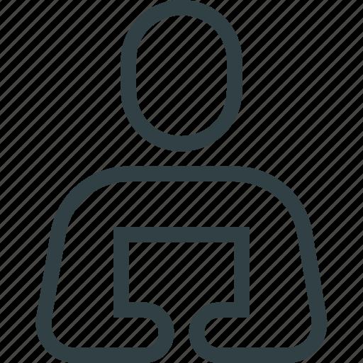 businessman, instructor, lecture, presenter icon