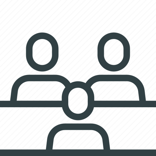 business, conference, corporate, group, human, teamwork icon