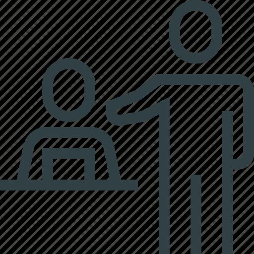 teacher, teaching, teamwork, training icon