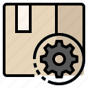 product, manufacture, procedure, operations, production icon