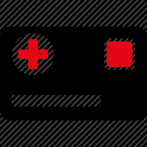 card, emergency, health, help, hospital, medical, medicine icon