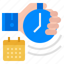 appointment, deadline, responsibility, task, time icon