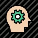 creative, head, innovation, mind, seo