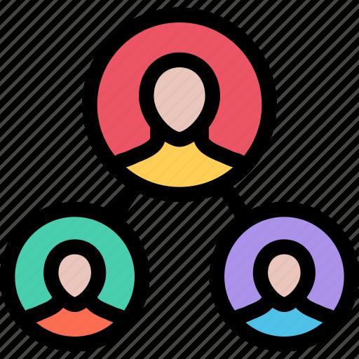 business, company, hierarchy, marketing, seo, site icon