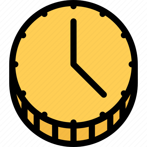 business, company, marketing, seo, site, time is money icon