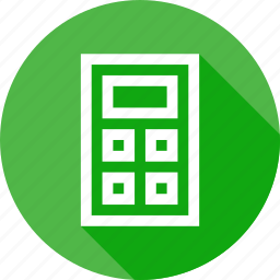 calc, calculation, calculator, key, operate, operation, operations icon