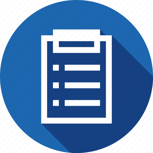 annual, note, notice, office, productivity, report icon