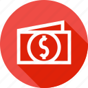 cash, dollar, finanace, income, money, personal, pocket icon