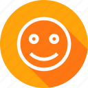 emoji, fresh, happiness, happy, sign, smile, smiley icon