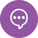 chat, chatting, communication, message, social, talk, typing icon