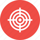 aim, bullseye, dart, illusion, strategy, target icon