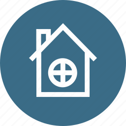 building, estate, factory, house, industry, real, workplace icon