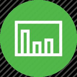 analysis, chart, column, graph, sales, statics icon