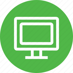 computer, display, it, monitor, screen, software icon