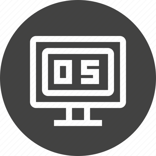 computer, device, hardware, operating, os, screen, system icon