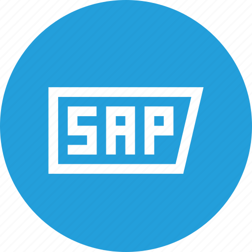 integration, logo, sap, security, software, solution, technology icon
