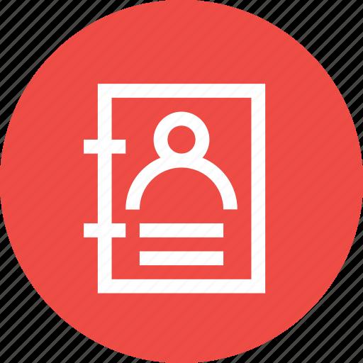card, development, login, personal, profile, signin, user icon