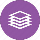 career, development, growth, layer, layers, stack icon