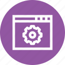 gear, preferences, repair, setting, support, tool, window icon