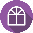 civil, design, door, fashion, interior, window icon