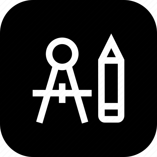 Compass, design, graphic, pen, pencil, shape icon - Download on Iconfinder