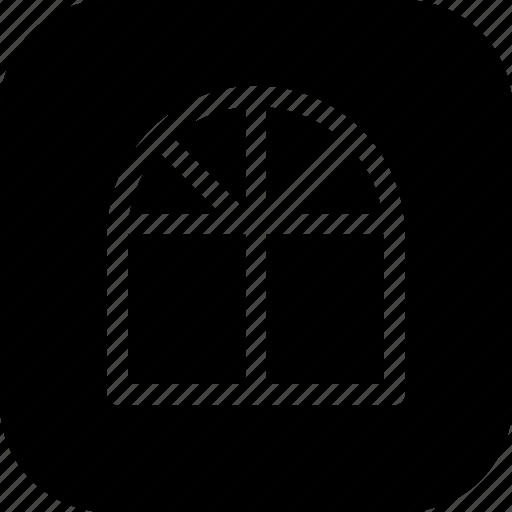 civil, design, door, fashion, interior, window icon