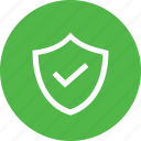 defense, on, protect, protection, safety, shield, verify icon