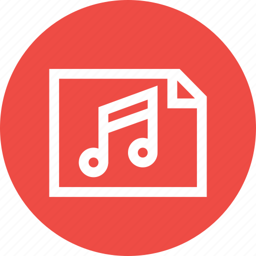 fundamentals, lyrics, music, player, song, sound, tune icon