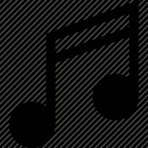 lyrics, music, note, player, song, sound, tune icon