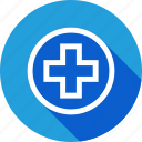 aid, first, hospital, medical, plus, safe, safety icon