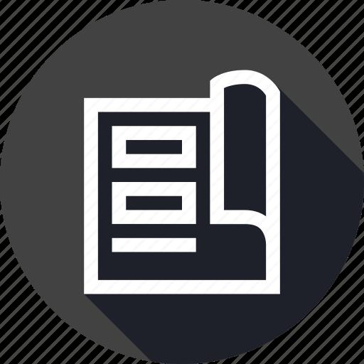book, design, info, information, instruction, update icon