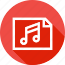 fundamentals, lyrics, music, note, song, sound, tune icon