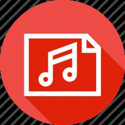 fundamentals, lyrics, music, note, song, sound, tune icon