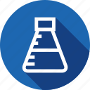 education, knowledge, lab, maths, science, test, tube icon