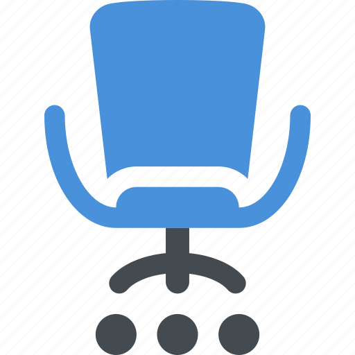 business, chair, furniture, office chair icon