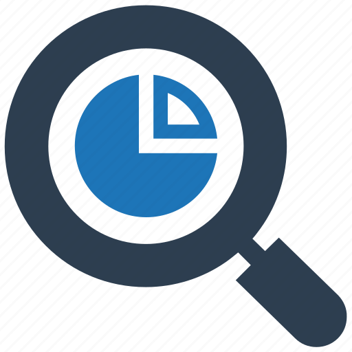 analysing, marketing, report, research, search icon