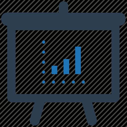 analytics, business, presentation, report, statistic icon