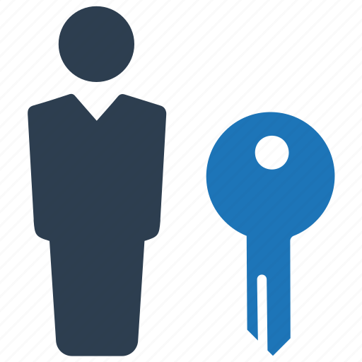 account, business, key, password, security icon