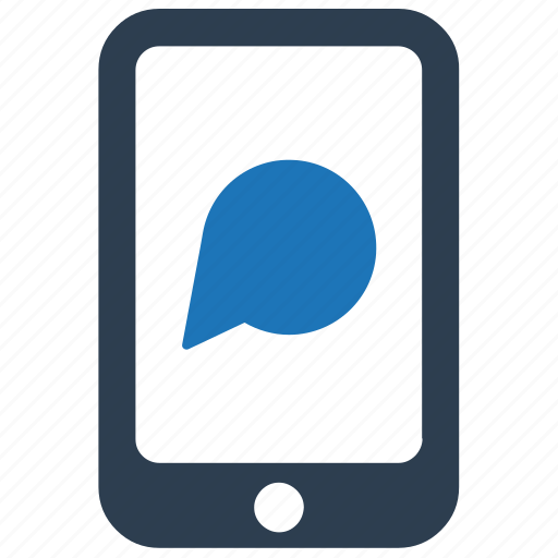 chat, message, messaging, mobile, text icon