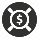 business, help, money, rescue, support icon