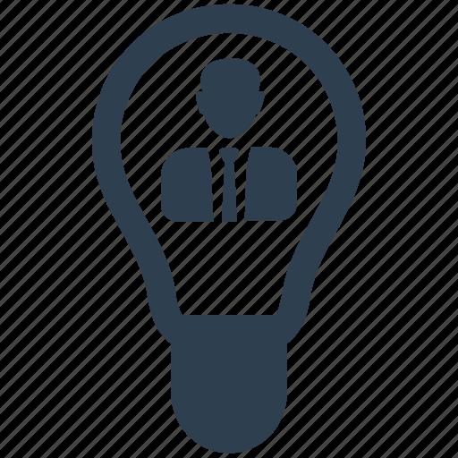 brainstorming, business idea, creativity, solution, thinking icon