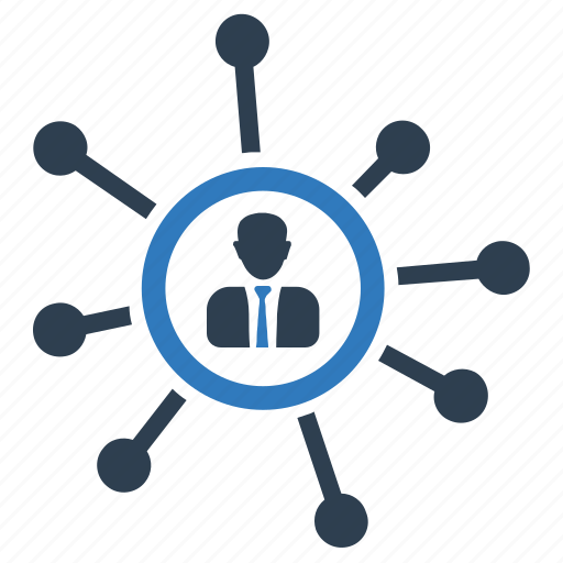 Business, communication, connection, link, man, network icon - Download on Iconfinder