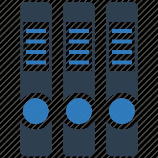 document, files, folder, folder arrange, office, ring binder icon