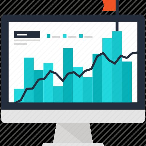 Analysis, analytics, chart, computer, graph, ipo, statistics icon - Download on Iconfinder