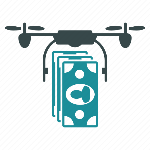 bank, buy, cash, copter, finance, money, transfer icon
