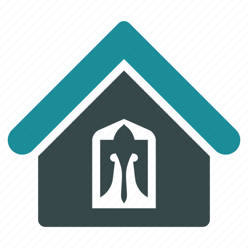 address, building, company, estate, home, house, office icon